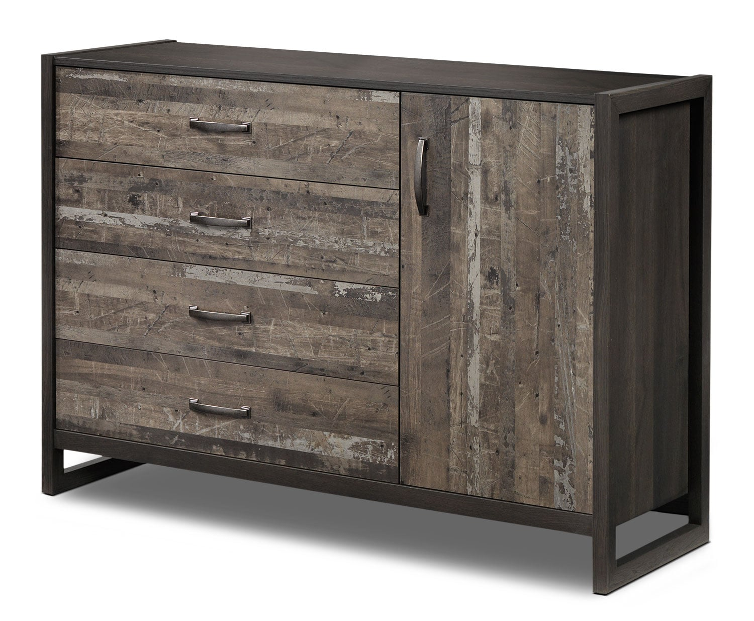 Bedroom Furniture - Hudson Dresser - Rustic Brown