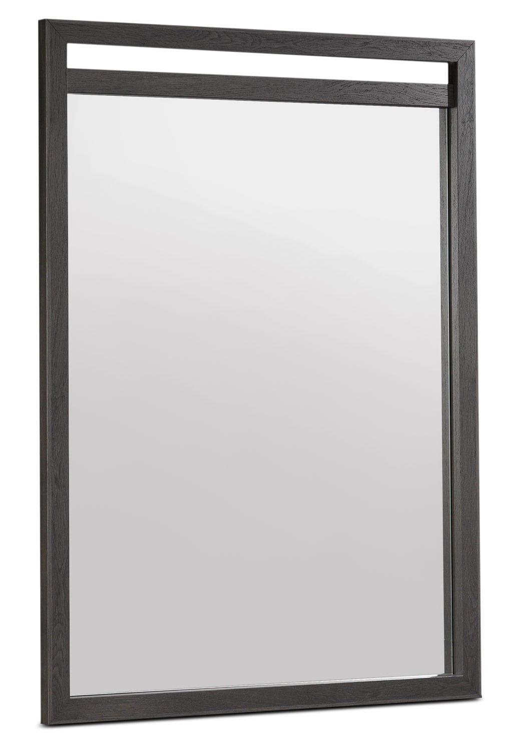 Hudson Mirror - Rustic Brown
