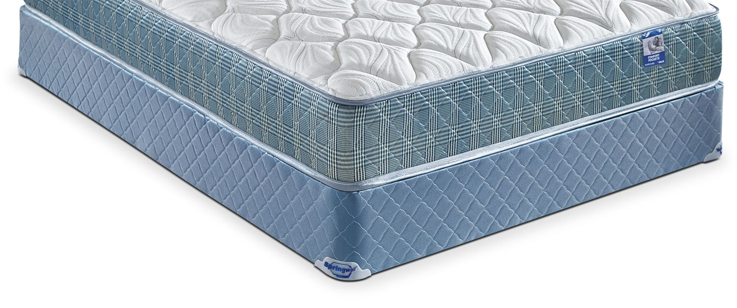Mattresses and Bedding - Springwall Harvard 2016 Twin Boxspring
