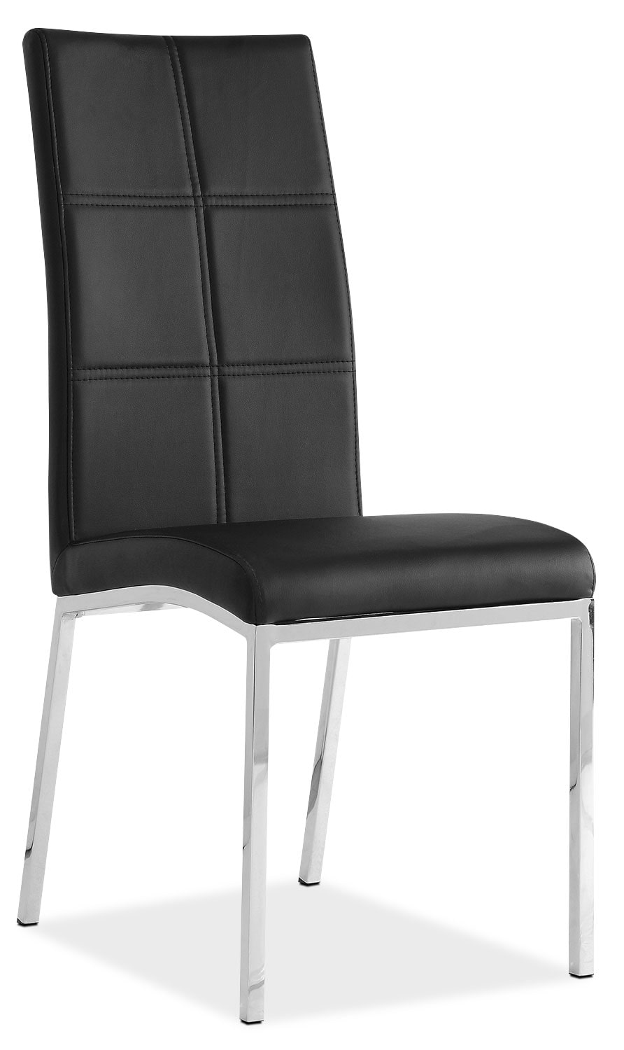 Milton Side Chair – Black