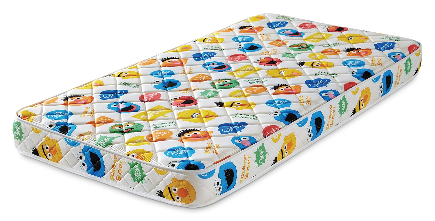 Mattresses and Bedding - Springwall Sesame Street® Tight-Top Twin Mattress