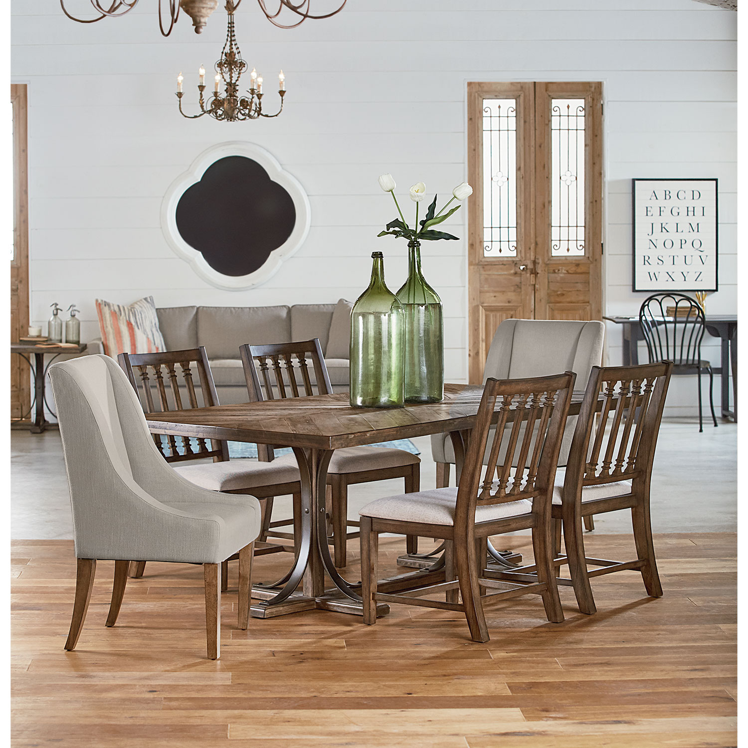 dining room furniture from magnolia home value city