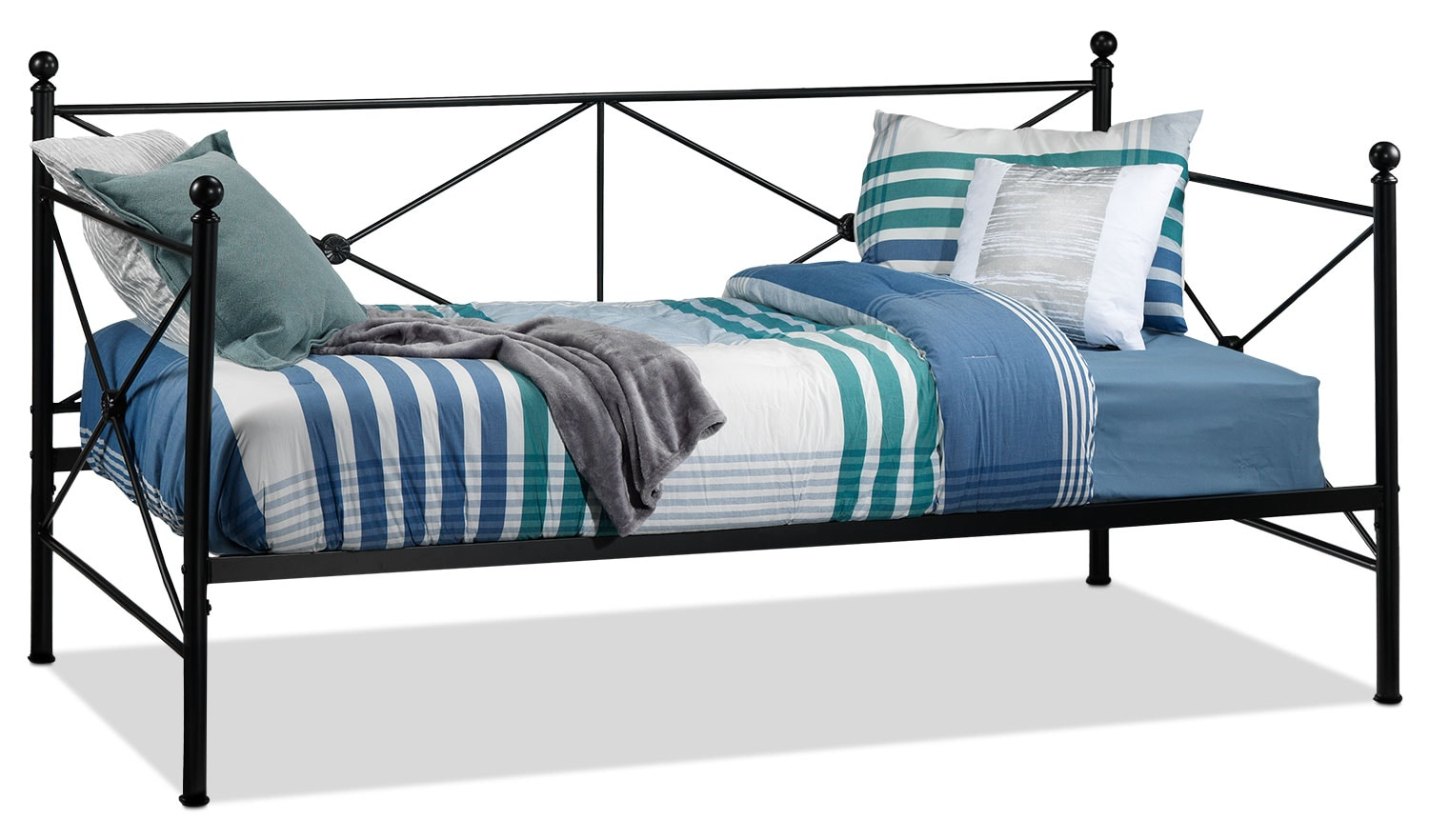 Bedroom Furniture - Devina Twin Daybed - Black