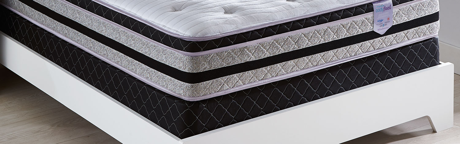Mattresses and Bedding - Springwall Body Fuel 2016 Queen Boxspring