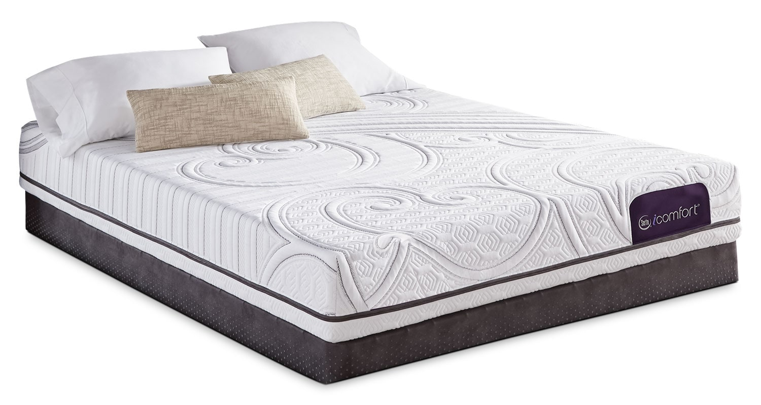 Mattresses and Bedding - Serta iComfort Aura 2 Firm Queen Mattress Set
