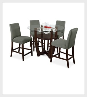 Shop the Alcove Sage II 5 piece Dinette Set