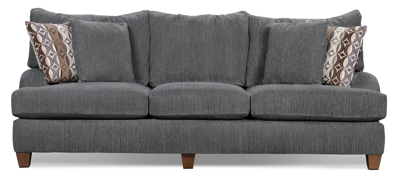 Putty Chenille Sofa Grey The Brick