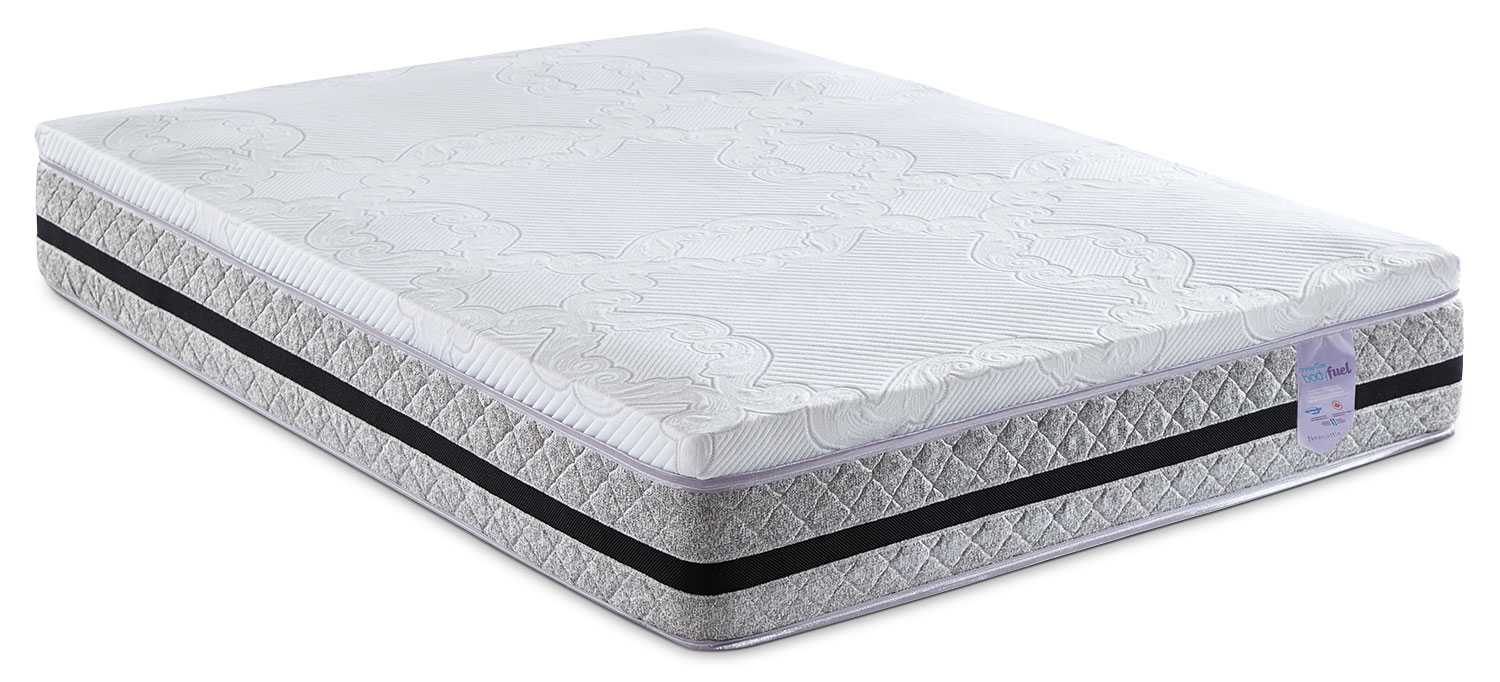 Mattresses and Bedding - Springwall Chiropractic® Body Fuel Newcastle Hybrid Tight-Top Full Mattress