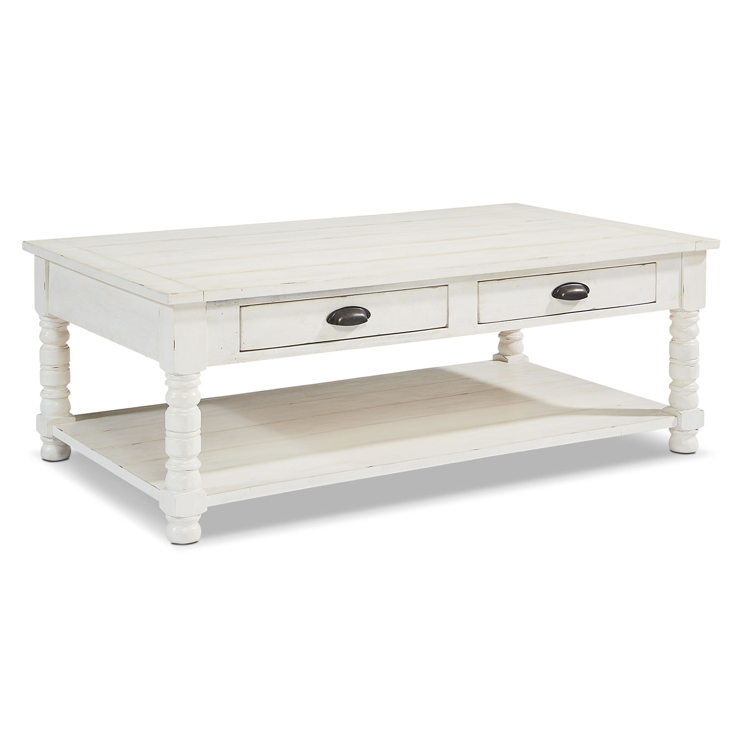 Accent And Occasional Furniture Primitive Bobbin Coffee Table - American Signature Furniture Coffee Tables - Coffee Addicts