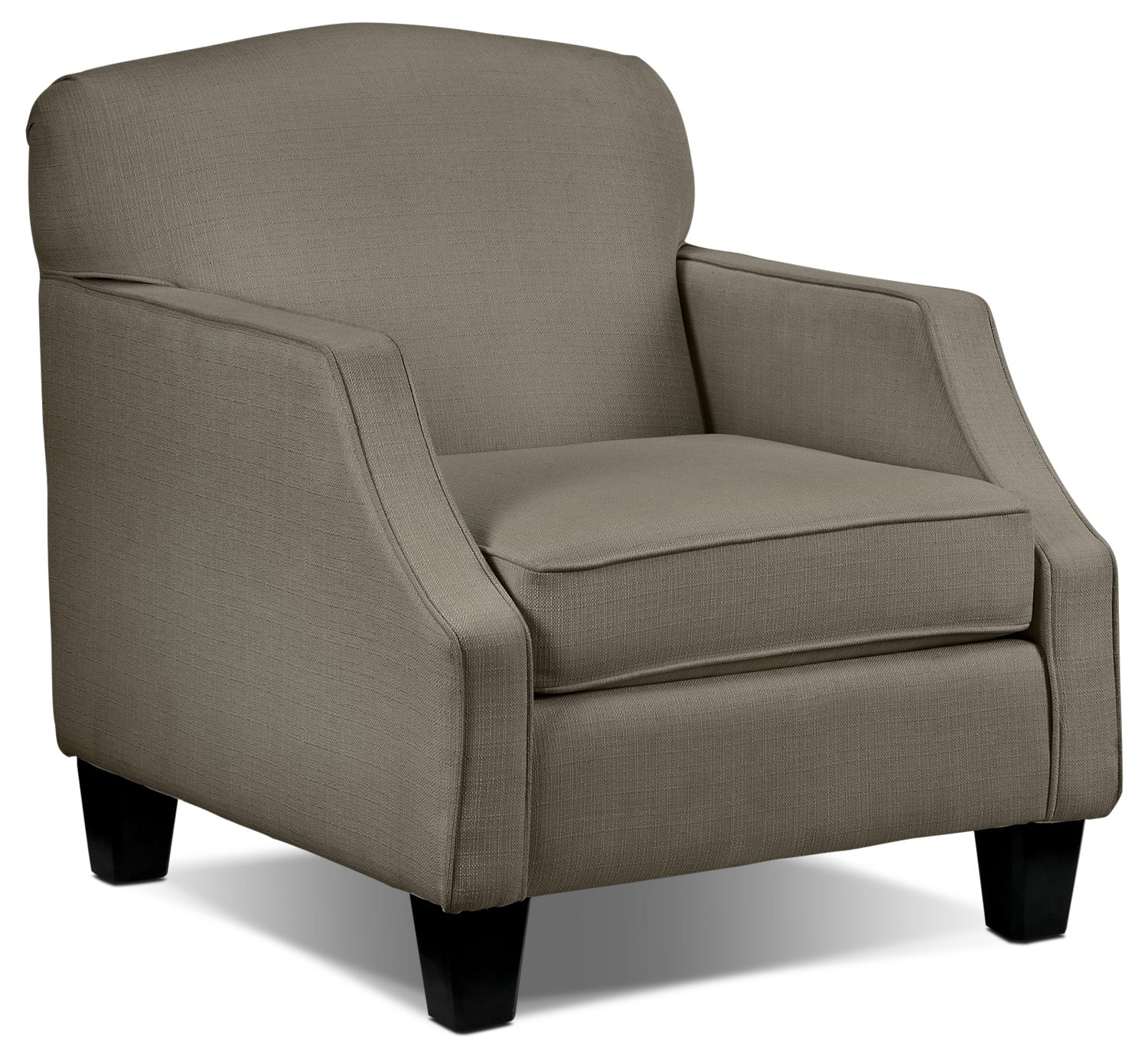 Living Room Furniture - Klein Chair - Grey