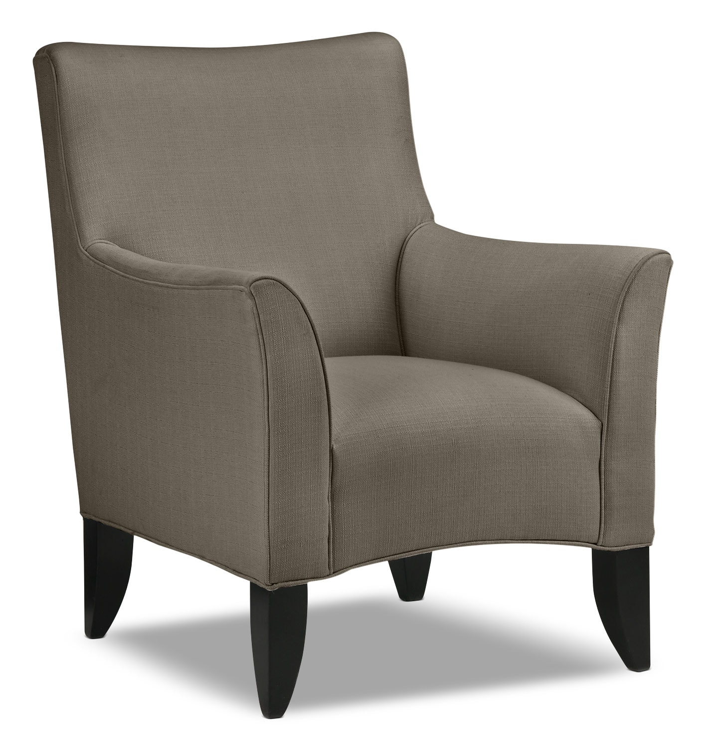 klein accent chair grey leon 39 s. Black Bedroom Furniture Sets. Home Design Ideas