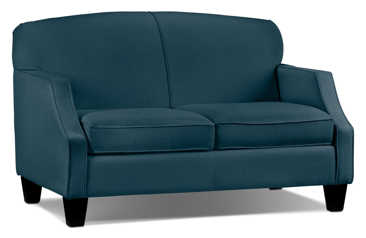 Living Room Furniture - Klein Loveseat - Azure