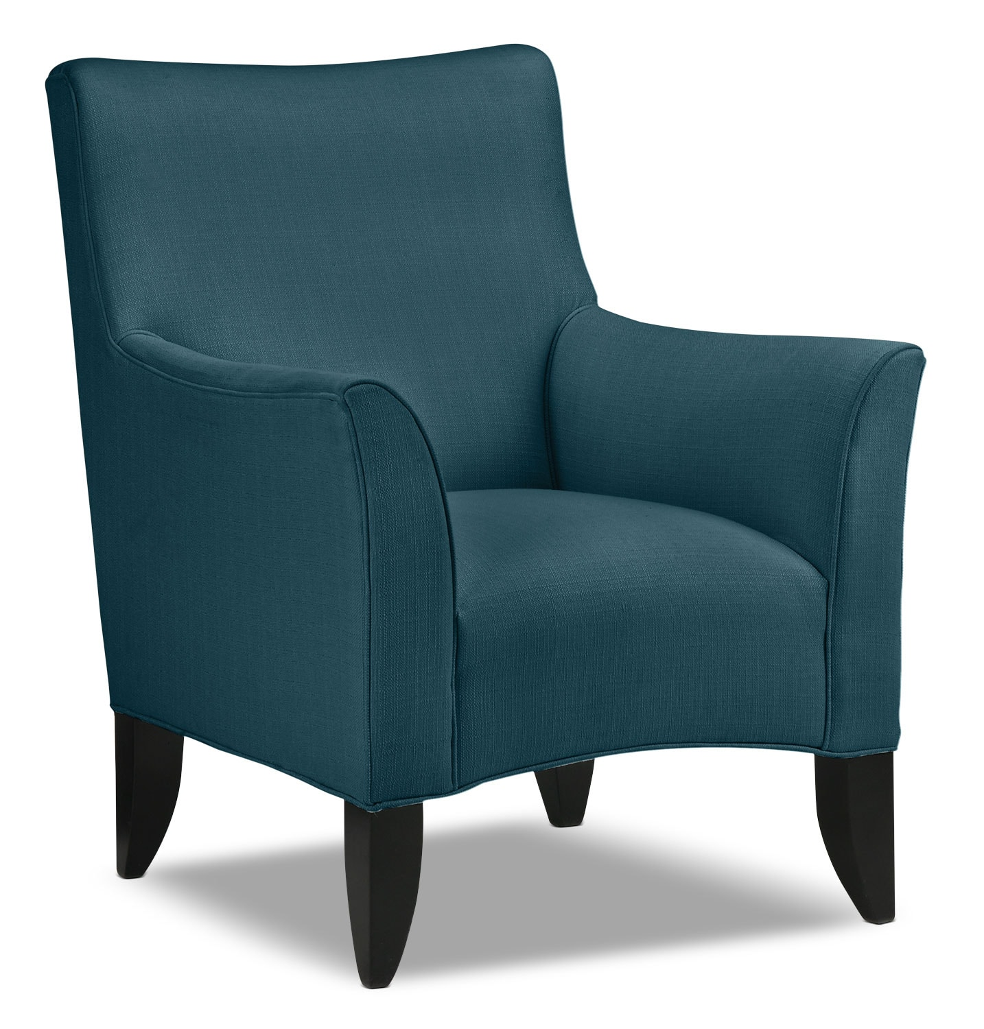 Living Room Furniture - Klein Accent Chair - Azure