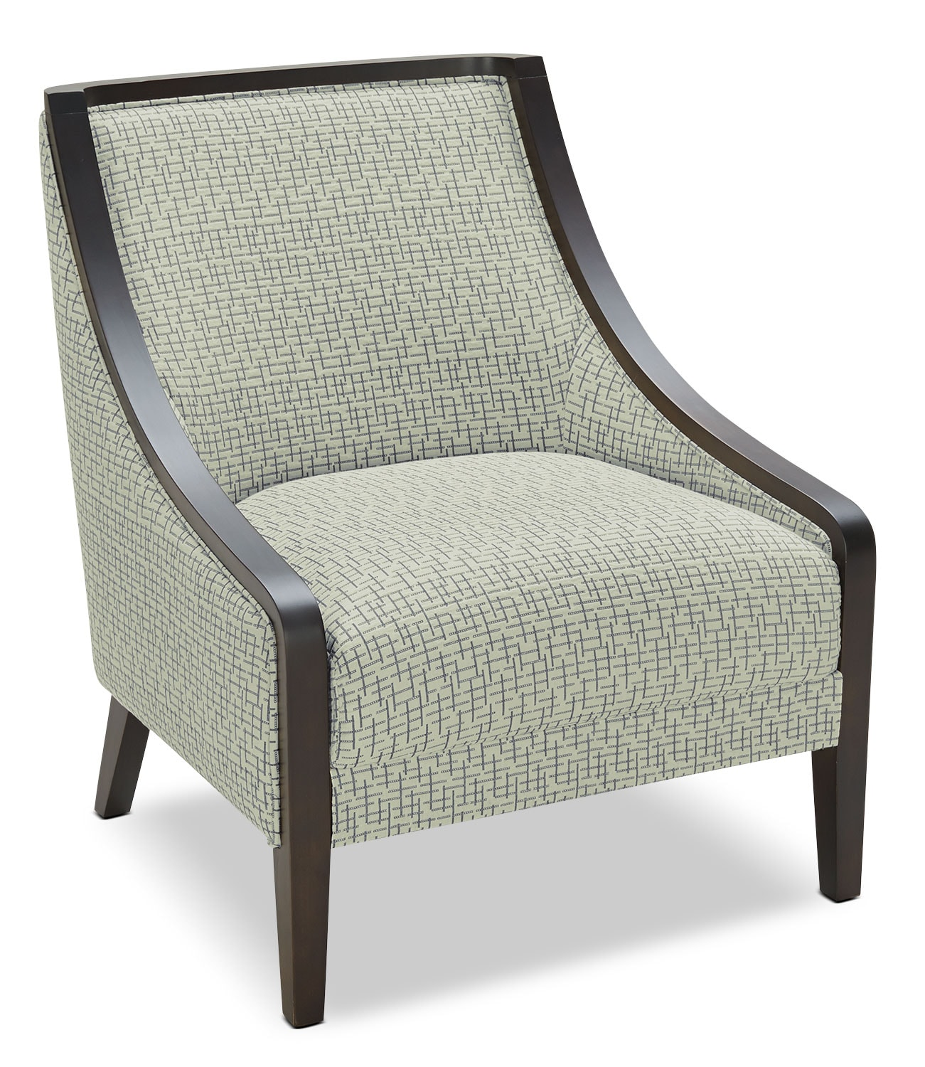 Living Room Furniture - Lilly Fabric Accent Chair