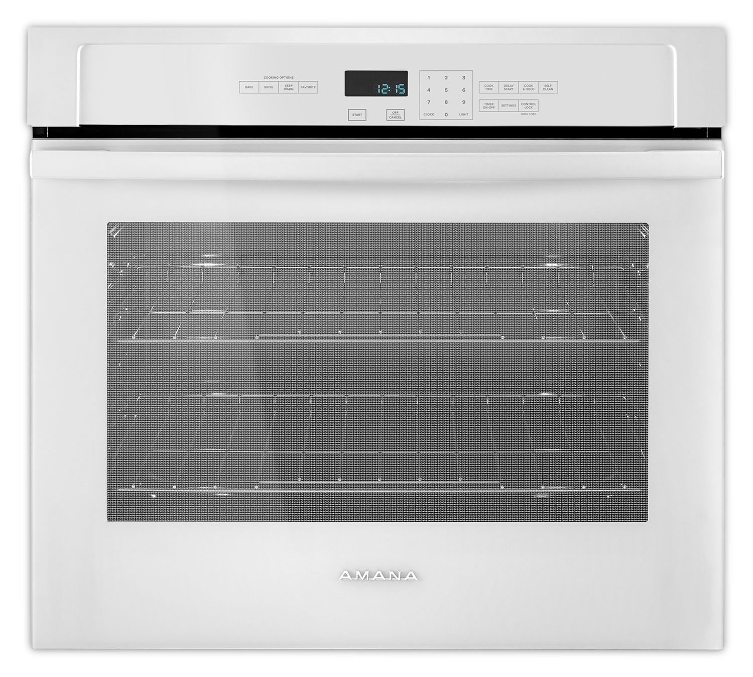 Cooking Products - Amana White Electric Wall Oven (5.0 Cu. Ft.) - AWO6313SFW