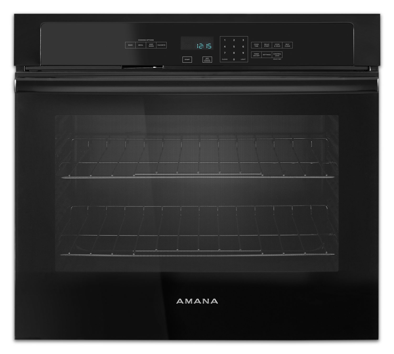 Cooking Products - Amana Black Electric Wall Oven (5.0 Cu. Ft.) - AWO6313SFB