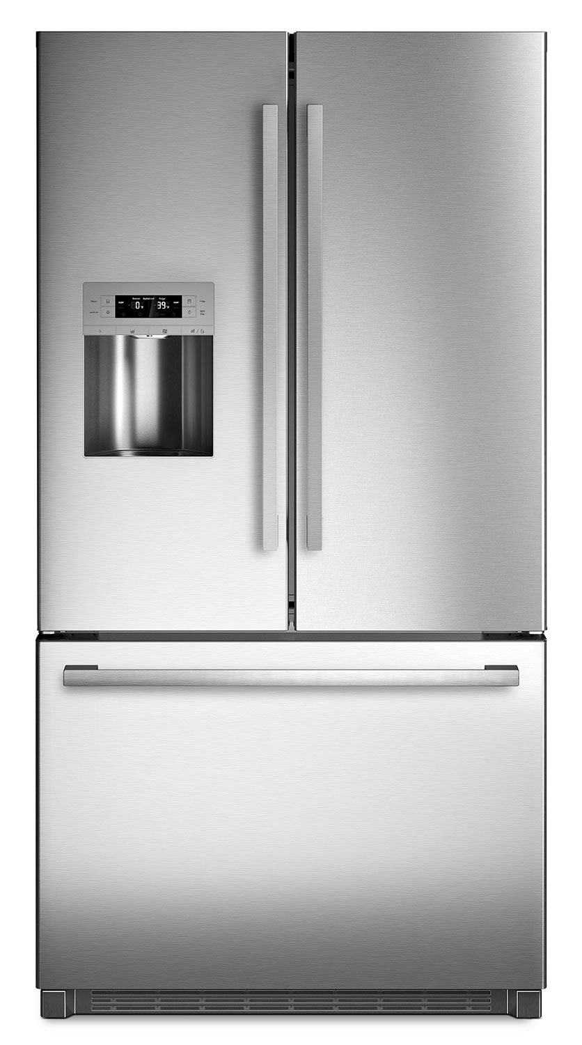 Refrigerators and Freezers - Bosch Stainless Steel French-Door Refrigerator (25.5 Cu. Ft.) - B26FT80SNS