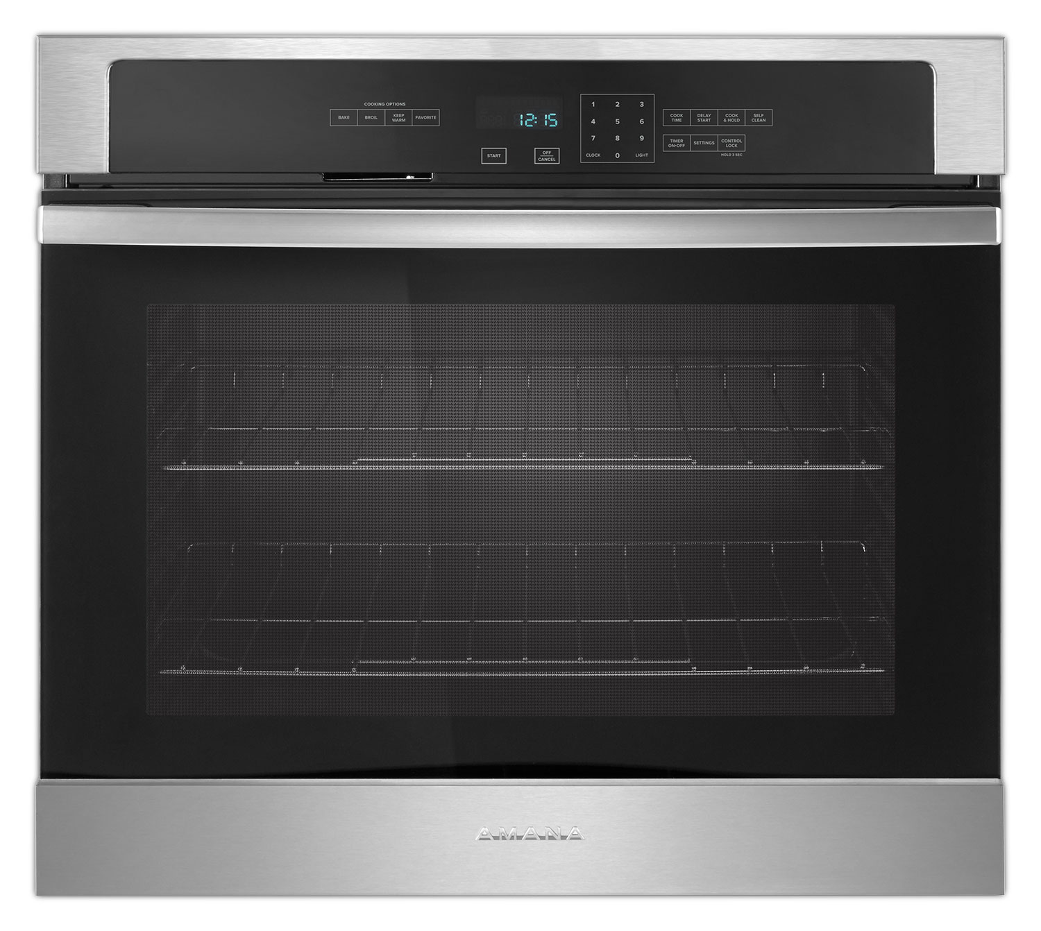 Cooking Products - Amana Stainless Steel Electric Wall Oven (4.3 Cu. Ft.) - AWO6317SFS