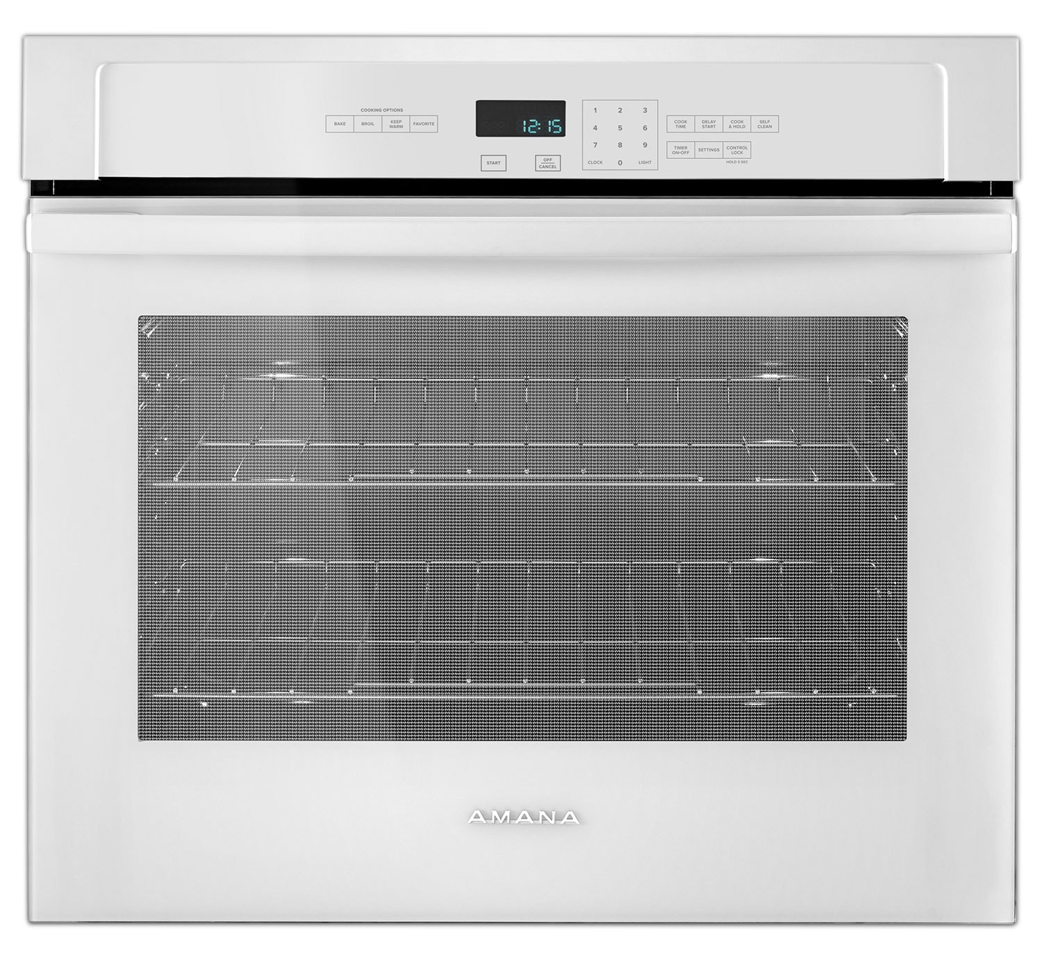 Cooking Products - Amana White Electric Wall Oven (4.3 Cu. Ft.) - AWO6317SFW
