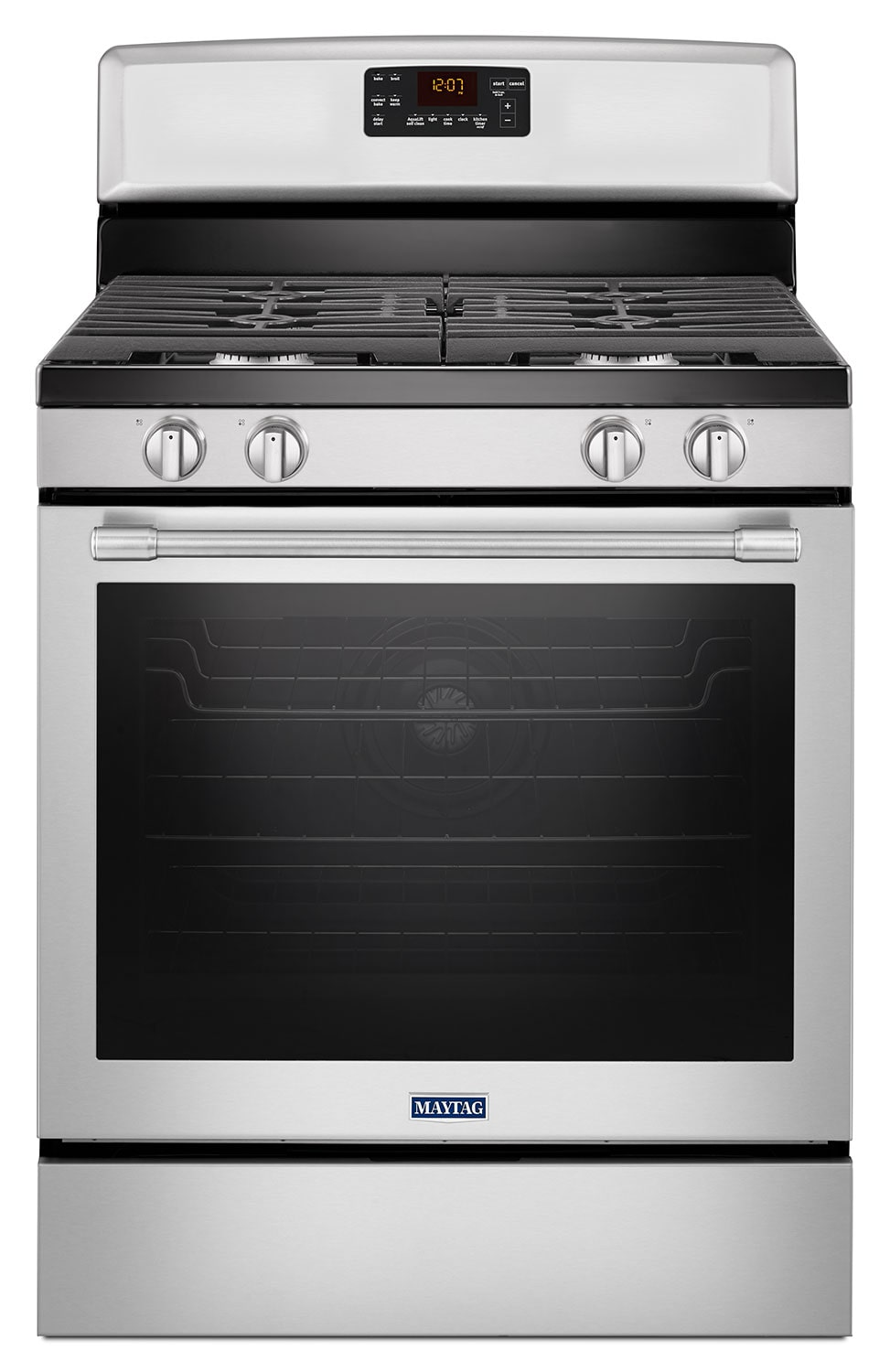 Cooking Products - Maytag Stainless Steel Freestanding Gas Convection Range (5.8 Cu. Ft.) - MGR8650FZ