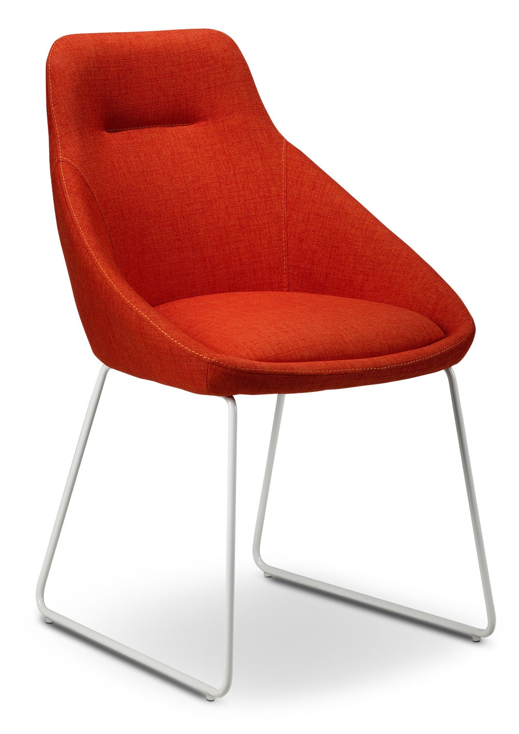Casual Dining Room Furniture - Sunshine Chair - Poppy Red