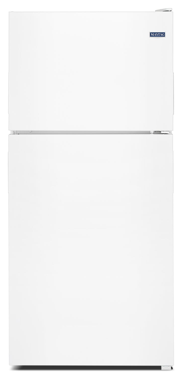 Refrigerators and Freezers - Maytag White Top-Freezer Refrigerator (21 Cu. Ft.) - MRT311FFFH