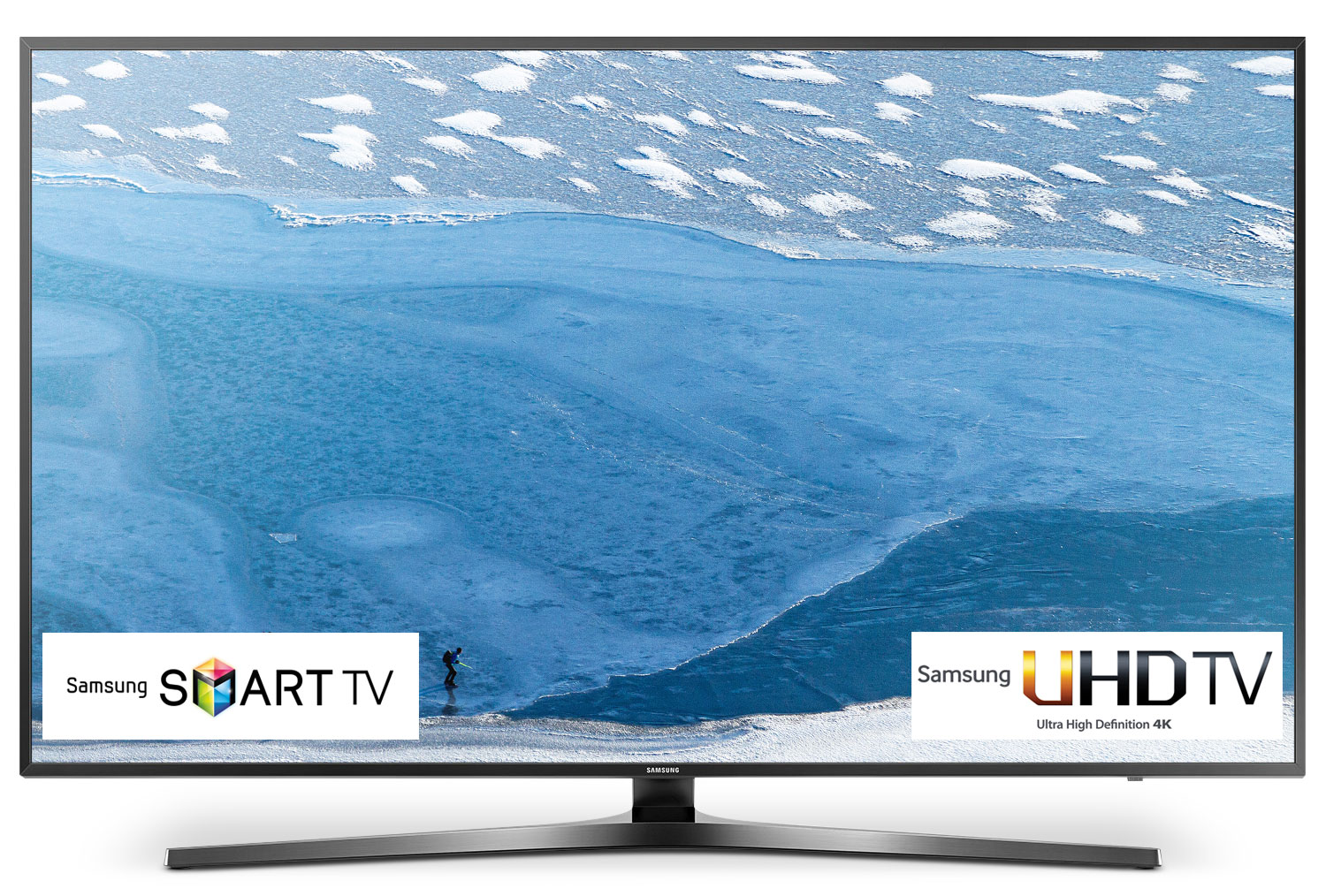 "Televisions - Samsung 40"" 4K UHD Smart LED TV - UN40KU7000FXZC"