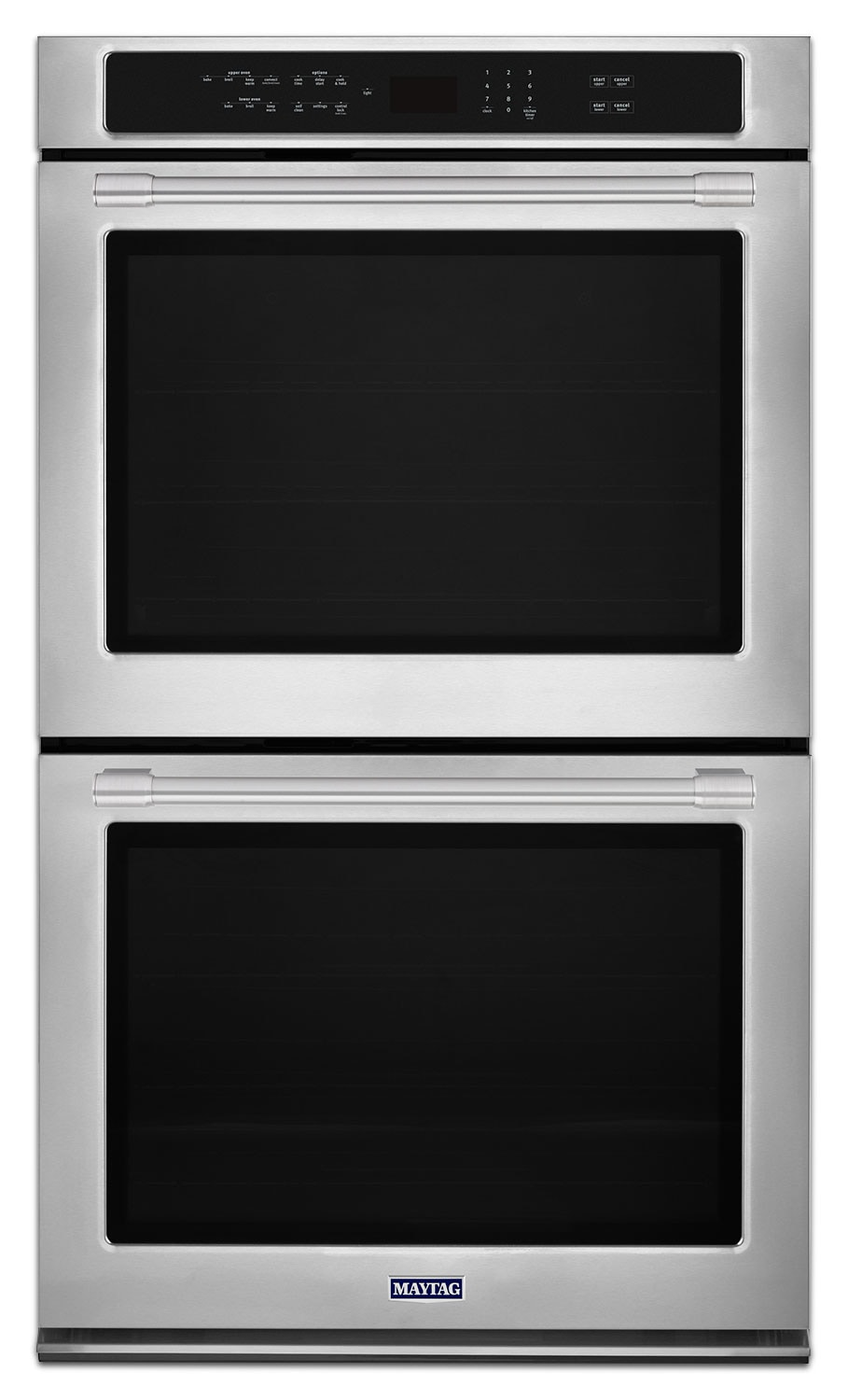Cooking Products - Maytag Stainless Steel Electric Double Wall Oven (10.0 Cu. Ft.) - MEW9630FZ