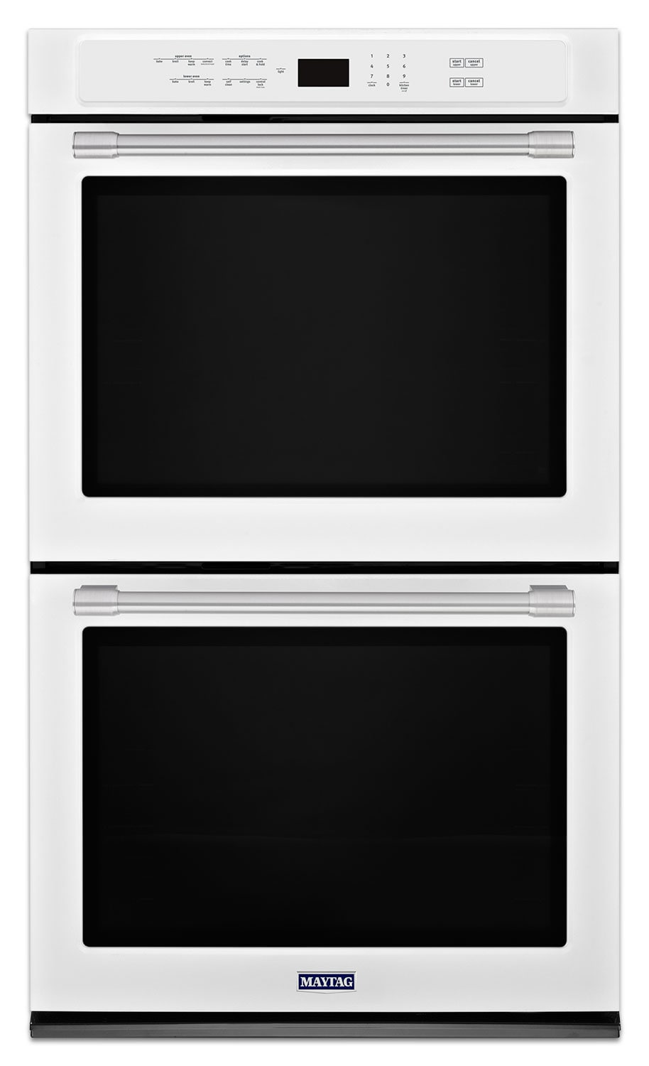 Cooking Products - Maytag White Electric Double Wall Oven (10.0 Cu. Ft.) - MEW9630FW