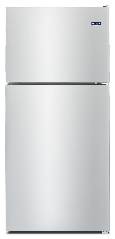 Maytag Stainless Steel Top-Freezer Refrigerator (18.0 Cu. Ft.) - MRT118FFFZ