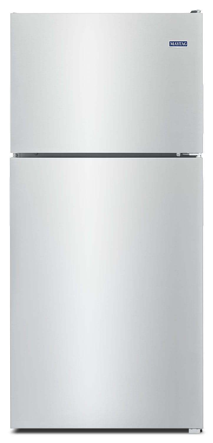 Refrigerators and Freezers - Maytag Stainless Steel Top-Freezer Refrigerator (18.0 Cu. Ft.) - MRT118FFFZ
