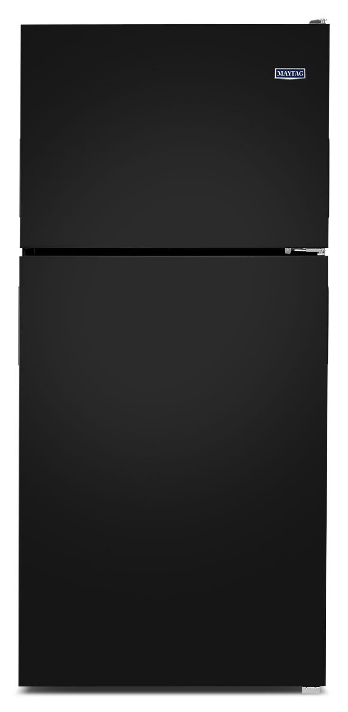 Refrigerators and Freezers - Maytag Black Top-Freezer Refrigerator (18.0 Cu. Ft.) - MRT118FFFE