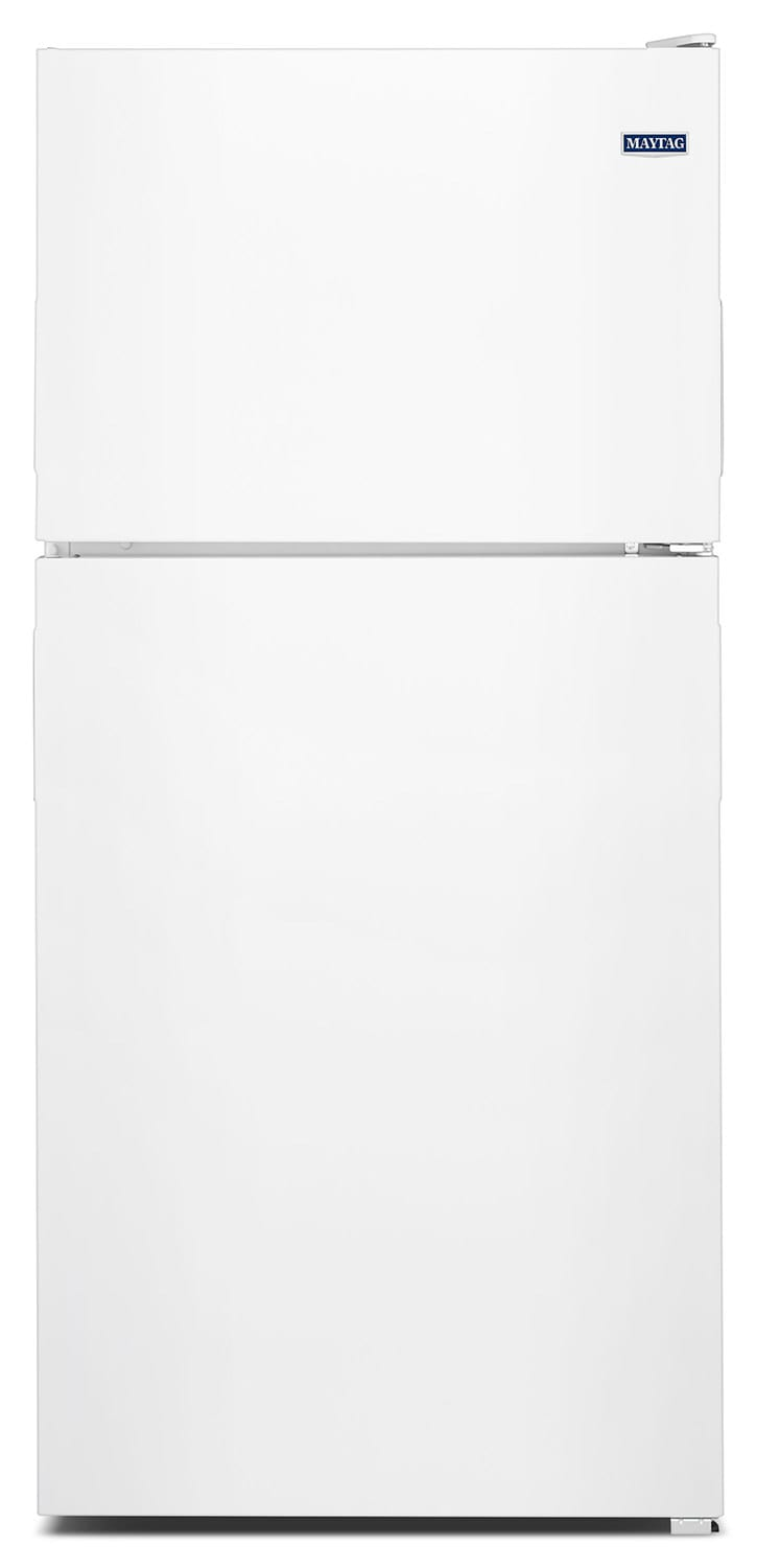 Refrigerators and Freezers - Maytag White Top-Freezer Refigerator (18.0 Cu. Ft.) - MRT118FFFH