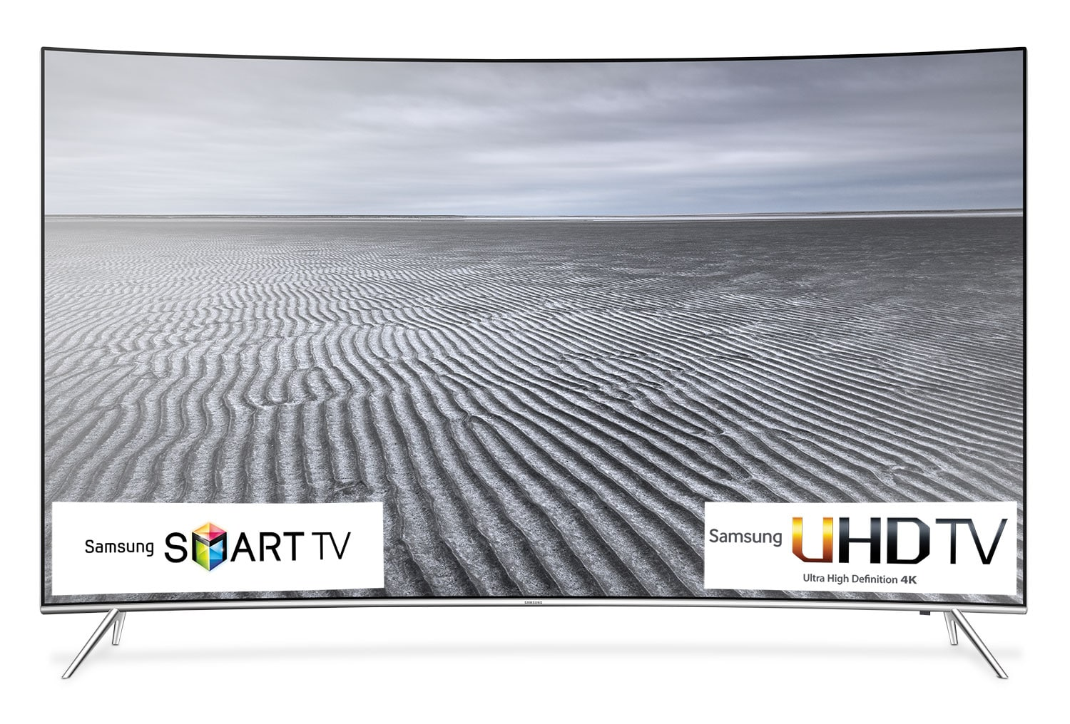 "Samsung 55"" Curved 4K SUHD Smart LED TV - UN55KS8500FXZC"
