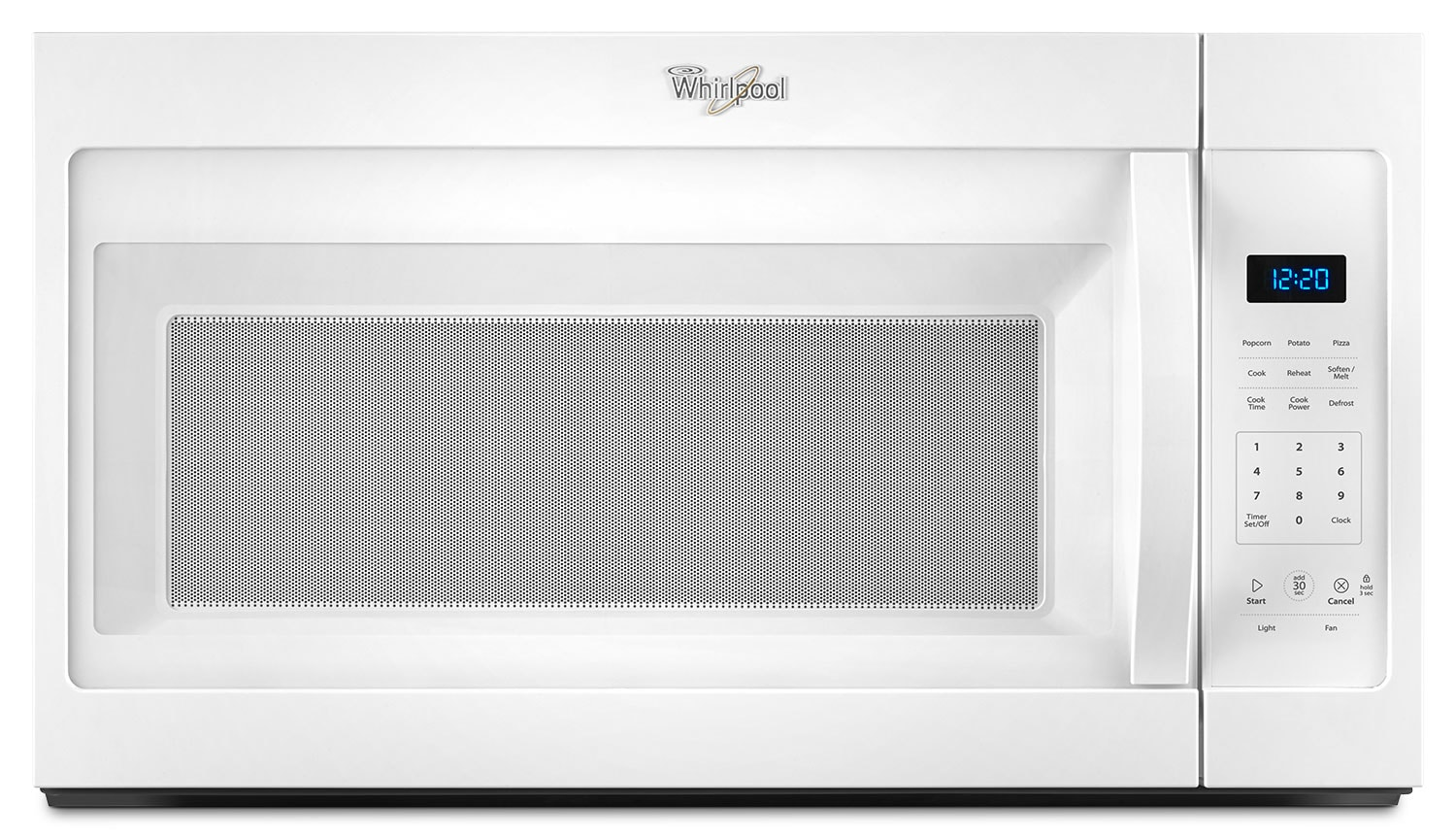 Cooking Products - Whirlpool White Over-the-Range Microwave (1.7 Cu. Ft.) - YWMH31017FW