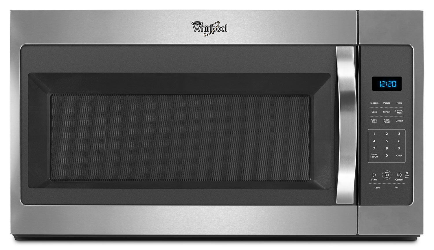 Cooking Products - Whirlpool Stainless Steel Over-the-Range Microwave (1.7 Cu. Ft.) - YWMH31017FS