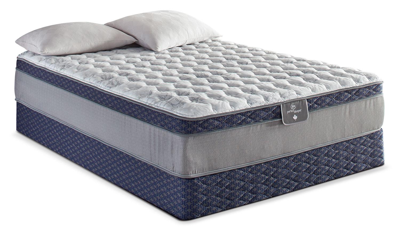 Mattresses and Bedding - Serta Perfect Sleeper 85th Anniversary Euro-Top Firm Twin Mattress Set