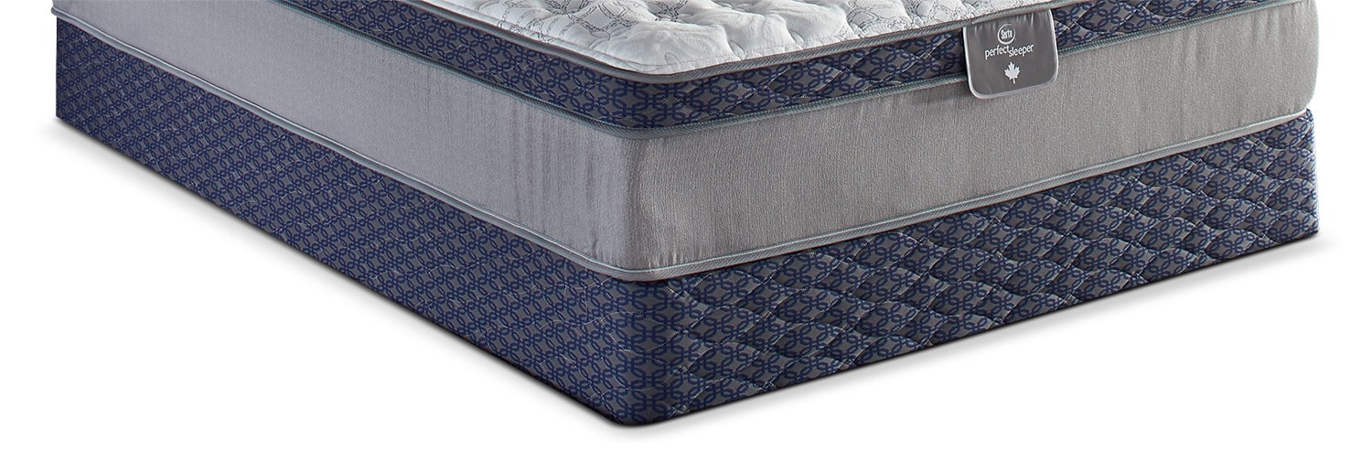 Mattresses and Bedding - Sertapedic® 85th Anniversary Full Boxspring