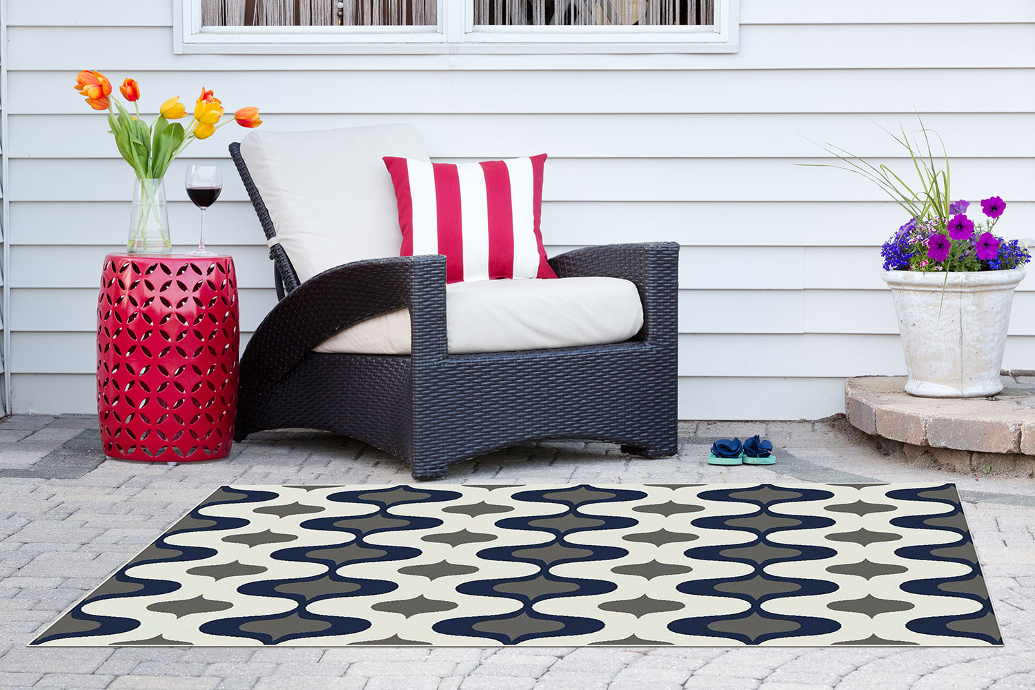 Outdoor Furniture - Havelock Indoor/Outdoor Rug – 7' x 10'