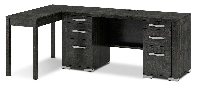 Home Office Furniture - Lexington 2-Piece Desk Package