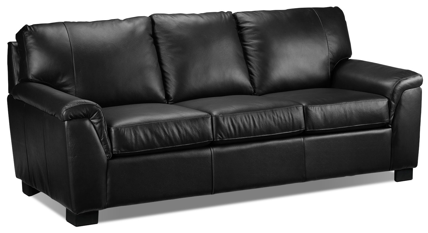 Living Room Furniture - Reynolds Sofa - Black