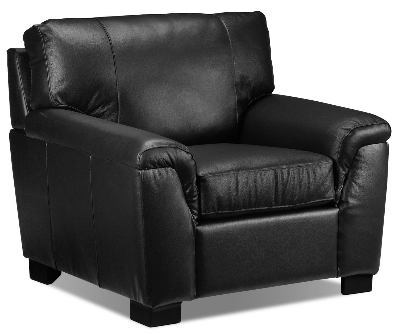 Living Room Furniture - Reynolds Chair - Black