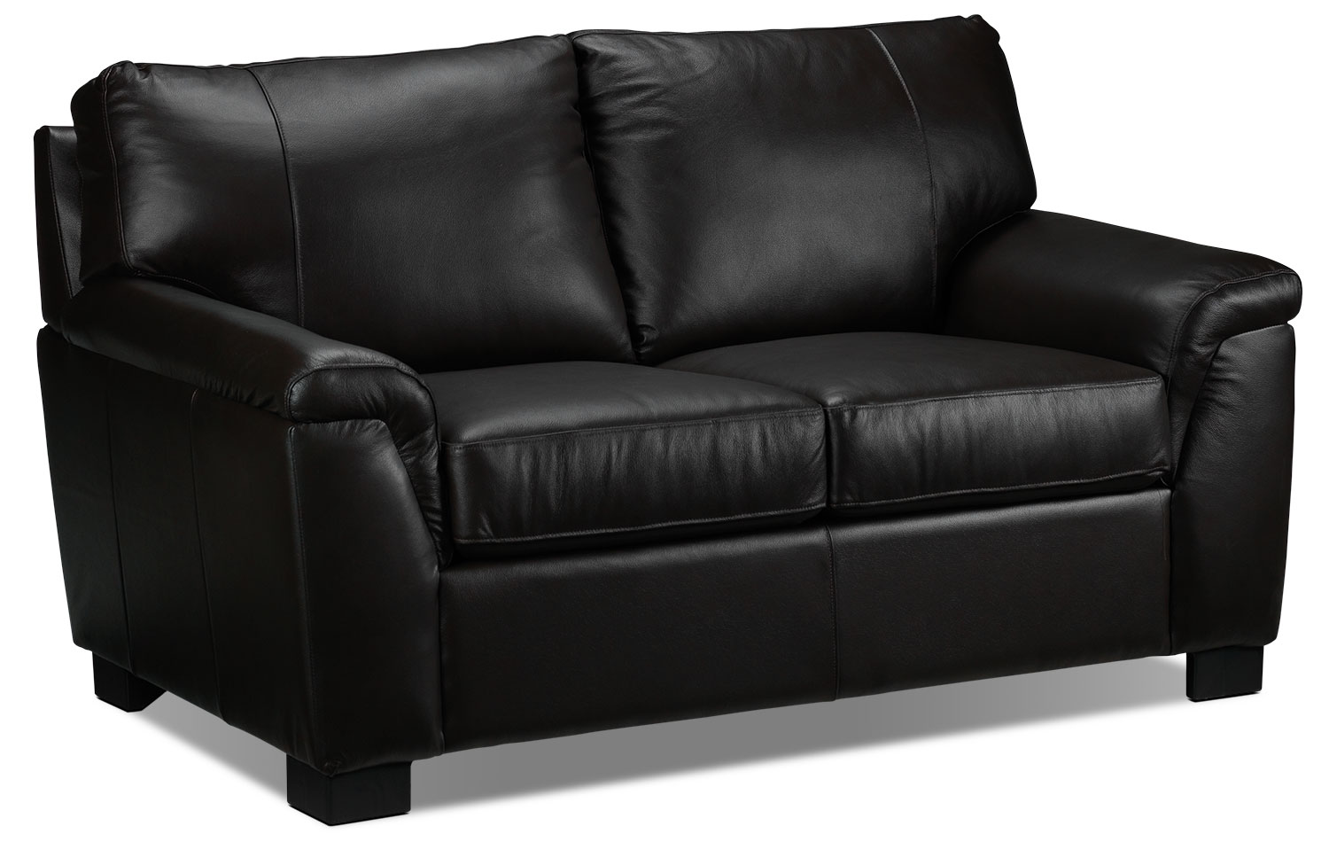 Living Room Furniture - Reynolds Loveseat - Coffee