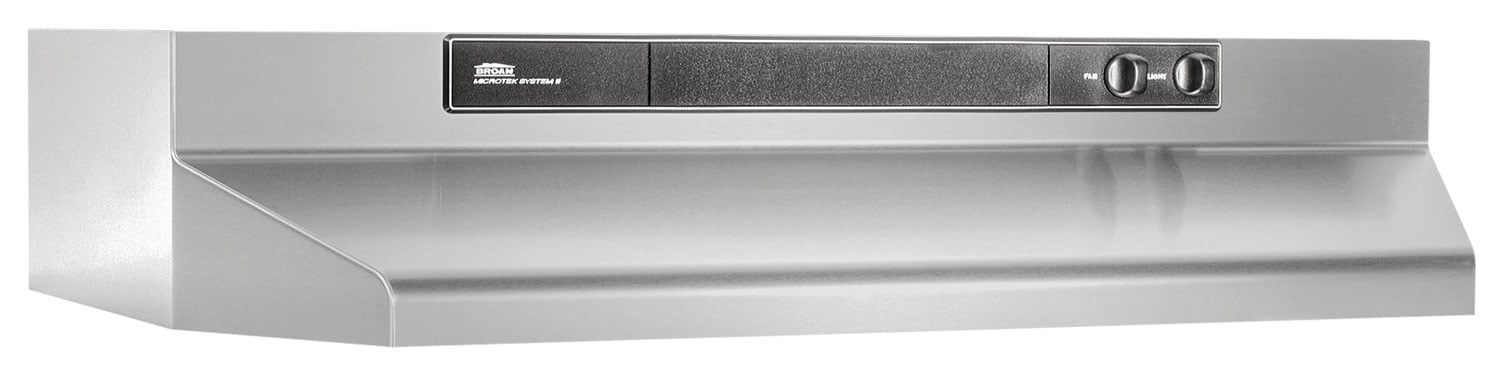 "Cooking Products - Broan 24"" Under-Cabinet Range Hood – GP124SSN"