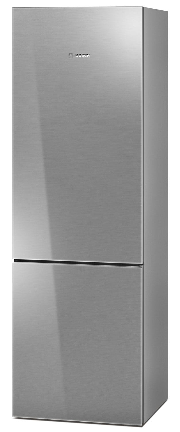 Refrigerators and Freezers - Bosch Stainless Steel Glass Bottom-Freezer Refrigerator (10.0 Cu. Ft.) - B10CB80NVS
