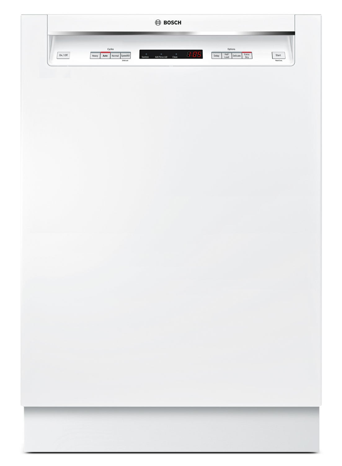 "Clean-Up - Bosch White 24"" Dishwasher - SHE4AV52UC"