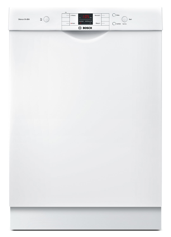 Clean-Up - Bosch 300 Series Built-In Dishwasher – White