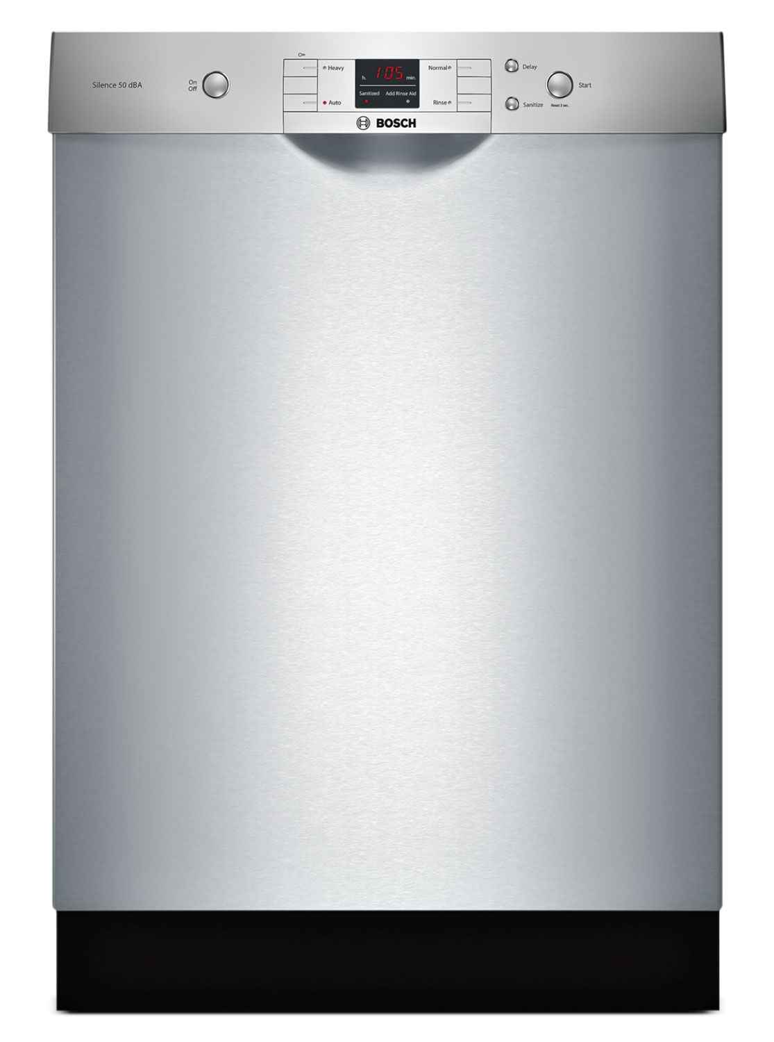 "Clean-Up - Bosch Stainless Steel 24"" Dishwasher - SHE33T55UC"