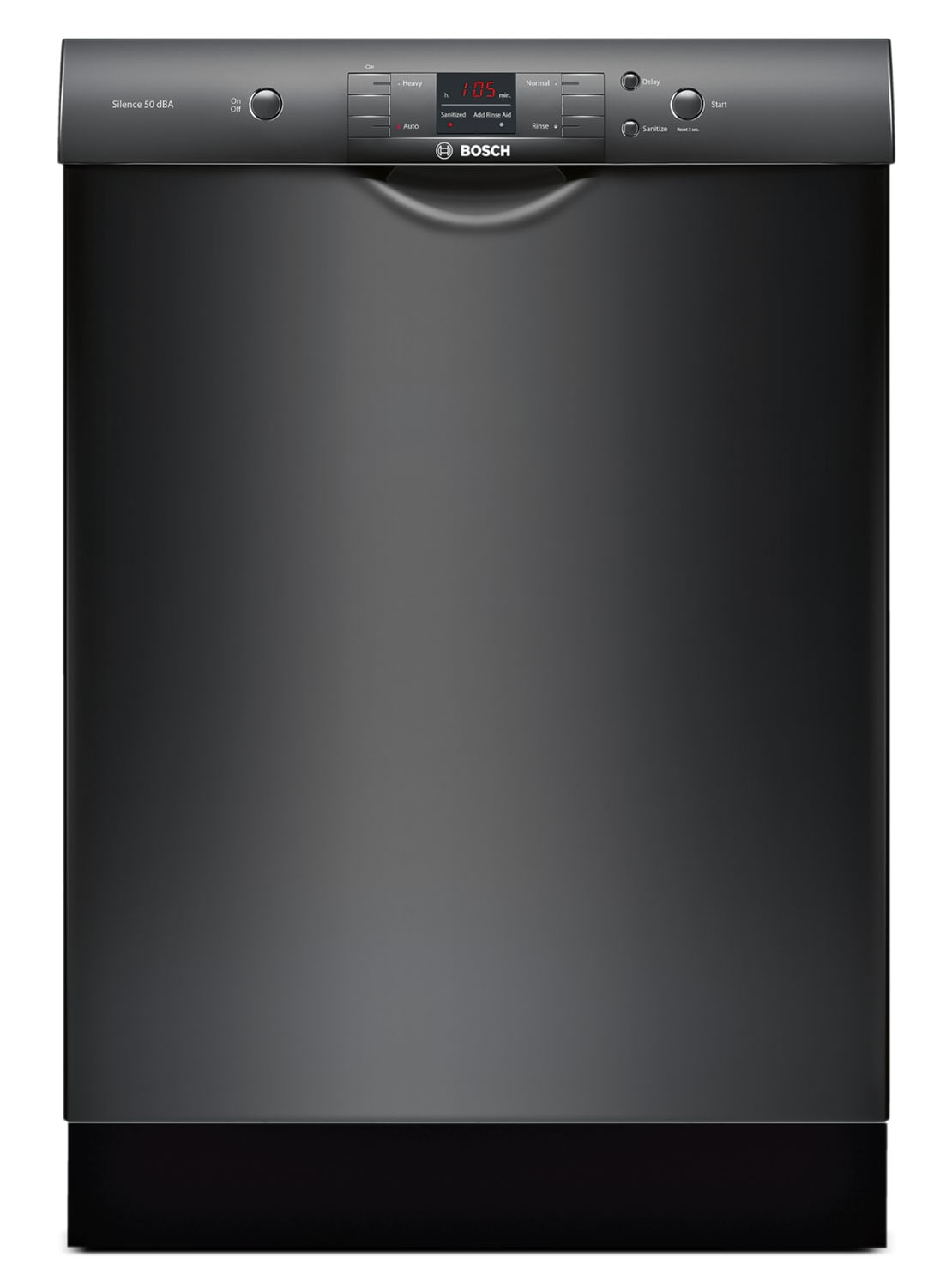 Bosch 300 Series Built-In Dishwasher – Black