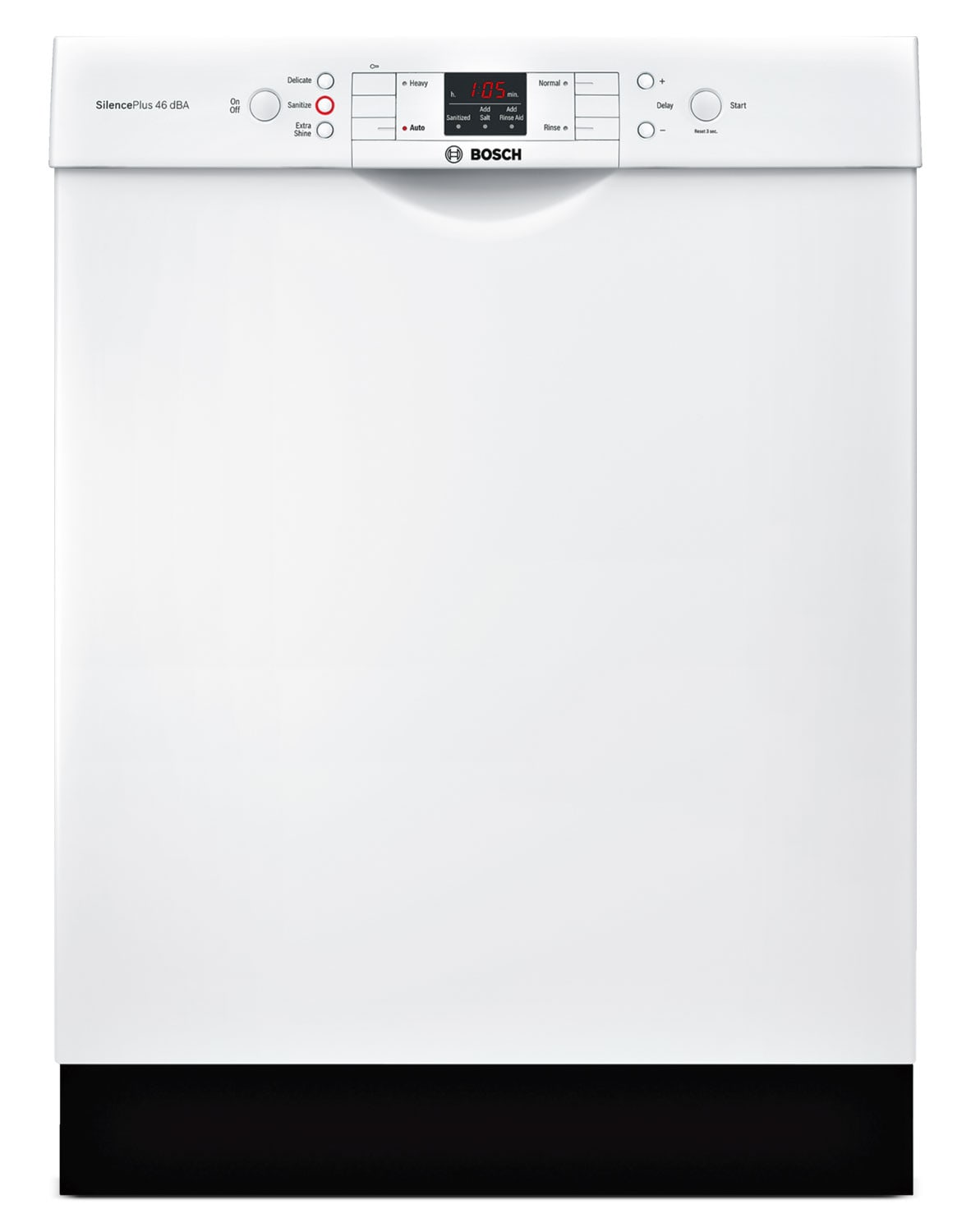 "Clean-Up - Bosch White 24"" Dishwasher - SGE53U52UC"